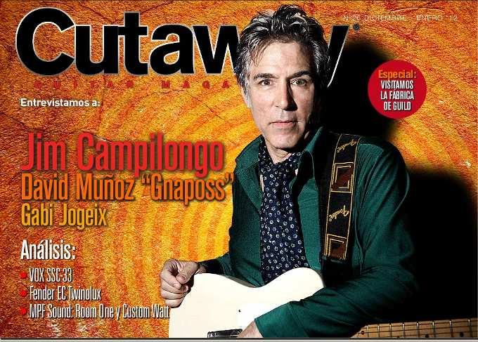 Cutaway Guitar Magazine #26