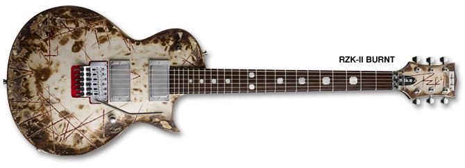 ESP RZK-II Burnt