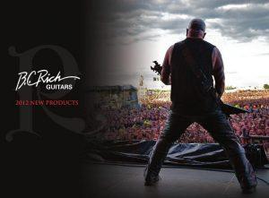 B.C. Rich guitarras 2012