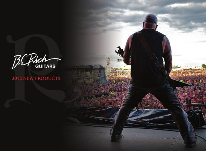 B.C. Rich guitarras 2012