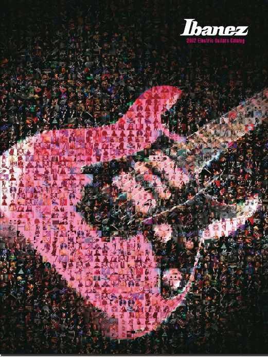 Catálogo guitarras Ibanez 2012