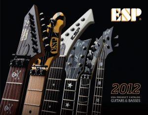 Guitarras ESP LTD catálogo 2012