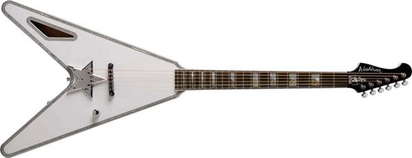 Guitarra acústica Washburn Paul Stanley estilo Flying V