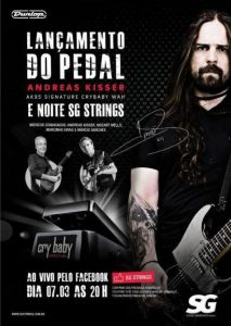 Andreas Kisser (Sepultura) Dunlop Signature 'Cry Baby'