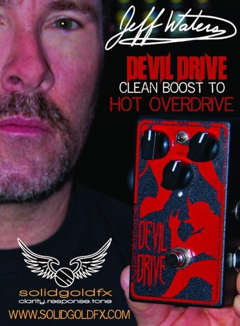 Jeff Waters Devil Drive Signature Overdrive