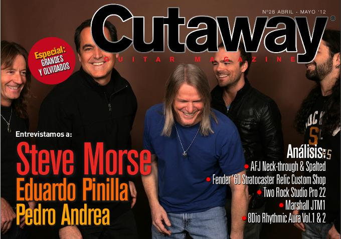 Cutaway Guitar Magazine #28