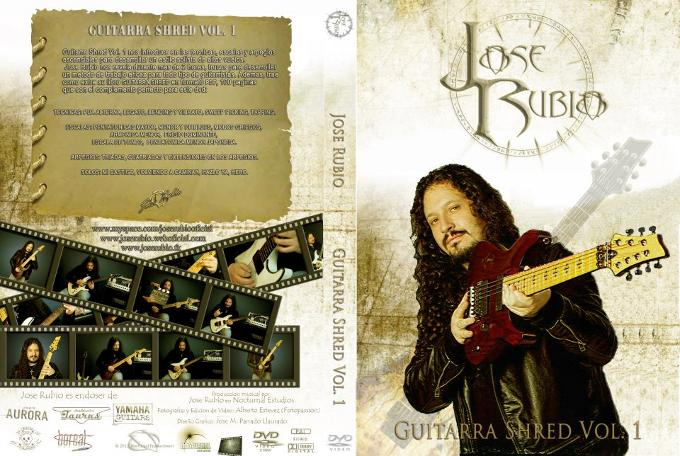 "José Rubio - DVD didáctico ""Guitarras Shred Vol:1"""