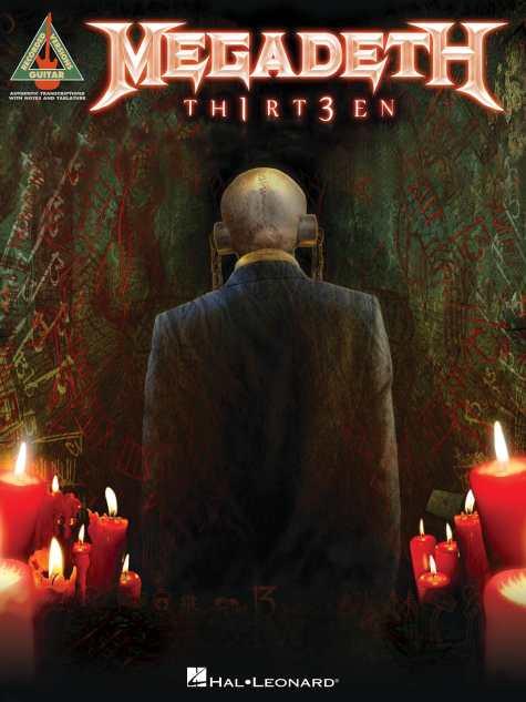 """Libro de tablaturas de Megadeth """"TH1RT3EN"""""""