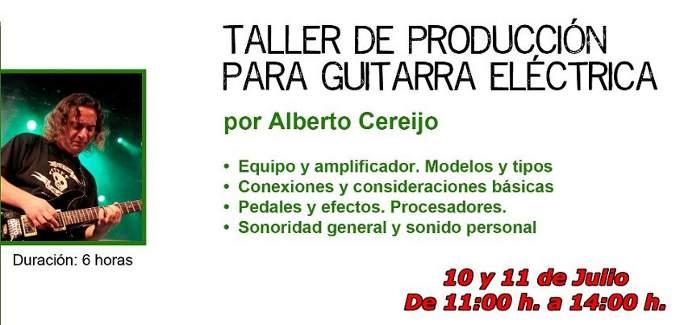 Alberto Cereijo Taller de guitarra
