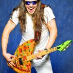 Andrew W.K. ESP pizza guitar