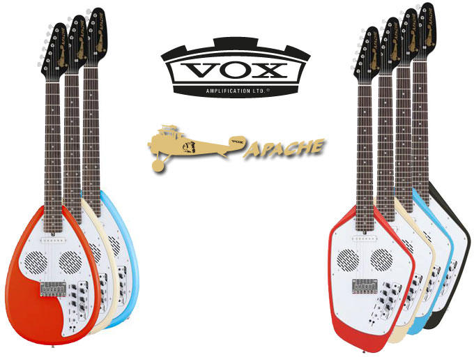 Guitarras Vox Apache Series