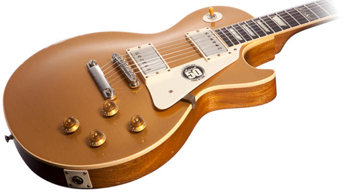Gibson 50th Anniversary of Marshall Les Paul Goldtop