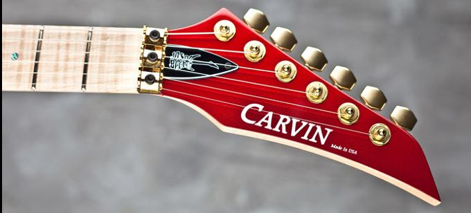 Carvin JB200SC Jason Becker Tribute Standard headstock
