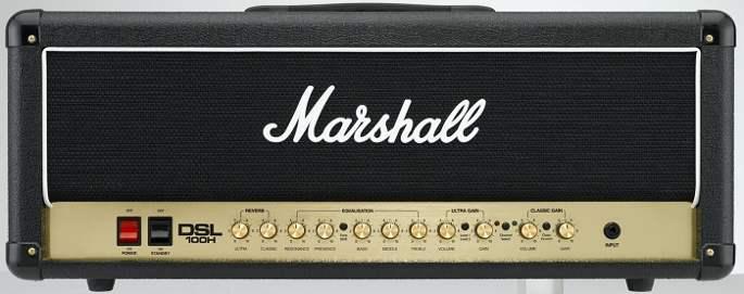 marshall dsl 100w head amp