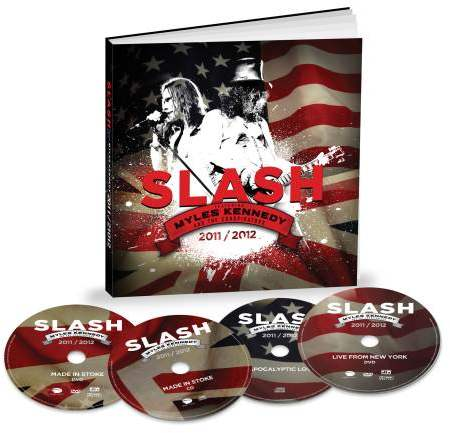 Slash Edicion Limitada 4 CDs/DVDs