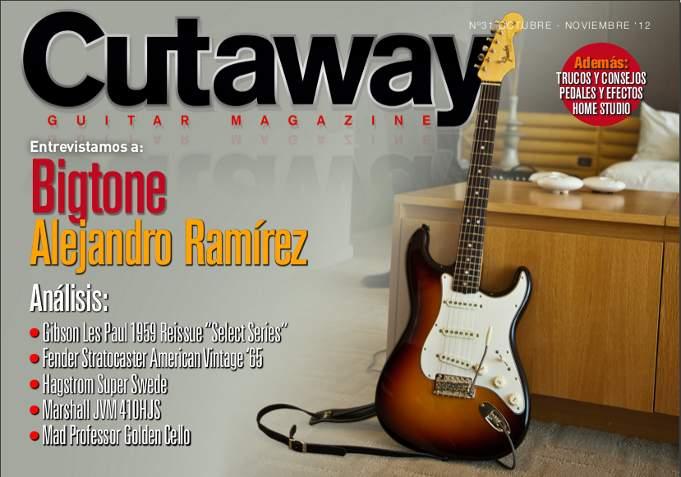 Cutaway Guitar Magazine #31
