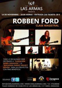 Master Class de Robben Ford en Zaragoza