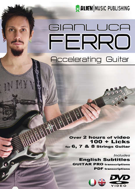 DVD instruccional del guitarrista Gianluca Ferro