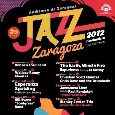 Festival de Jazz Zaragoza 2012