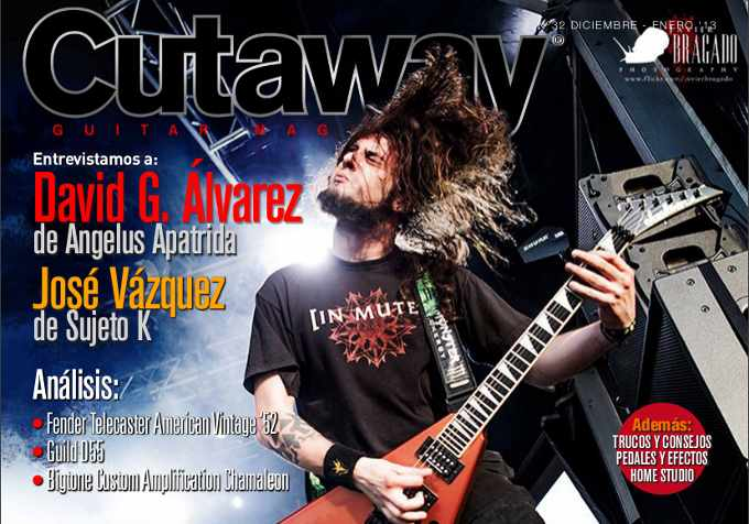 Cutaway Guitar Magazine #32