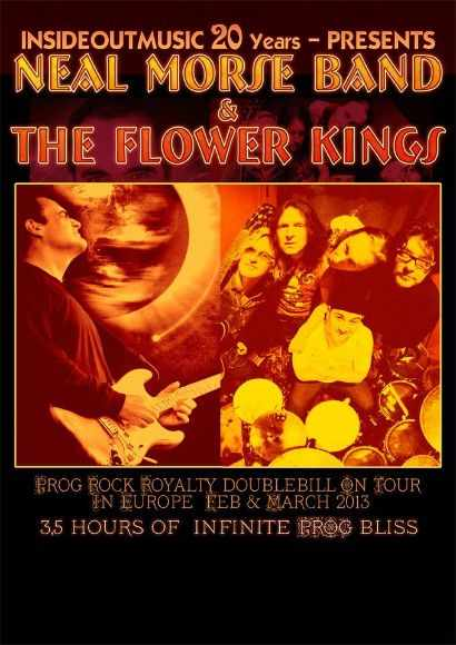 Neal Morse Band & The Flower Kings Tour 2013