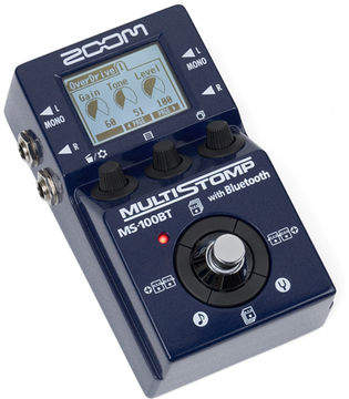 Multiefectos Zoom MS-100BT con Bluetooth