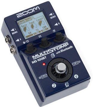 Multiefectos Zoom MS-100BT con Bluetooth