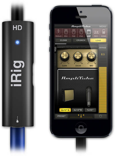 iRig HD para iPhone, iPad o Mac