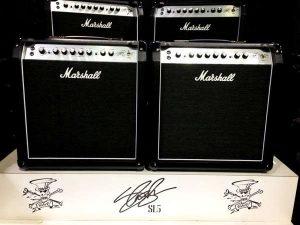 Amplificador Marshall Slash SL-5