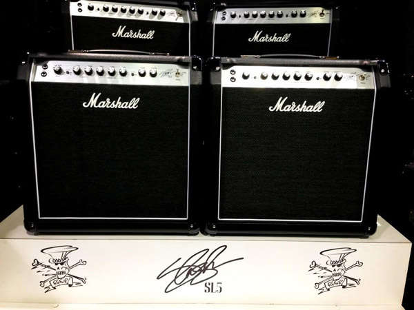 Amplificador Marshall Slash SL-5