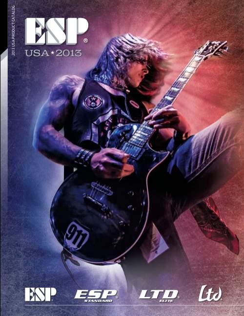 Catálogo Guitarras ESP y LTD 2013