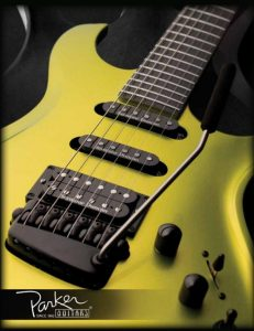 Catálogo guitarras Parker 2013