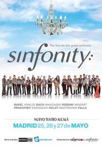 Conciertos de Sinfonity: orquesta sinfónica de guitarras eléctricas