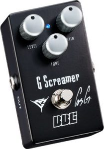 GUS G. Signature BBE G Screamer Overdrive Pedal