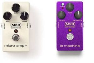 MXR Custom Shop La Machine y Microamp+