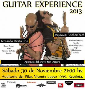 Guitar Experience 2013