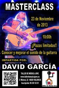 """Masterclass de David García """"Conocer y mejorar el sonido de la guitarra"""""""