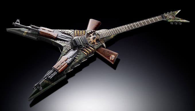 ESP Custom Shop Ghost Soldier