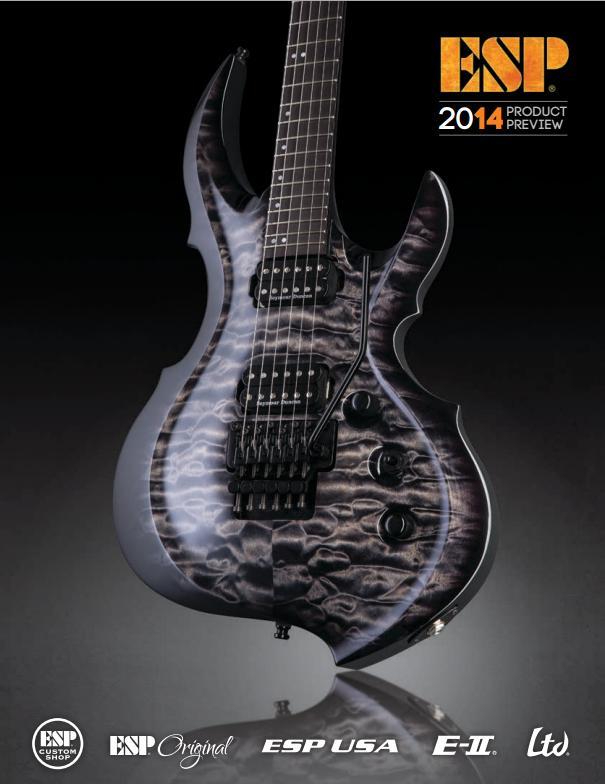 ESP Guitars 2014 Catalog