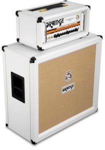 Amplificadores Orange en blanco edición limitada