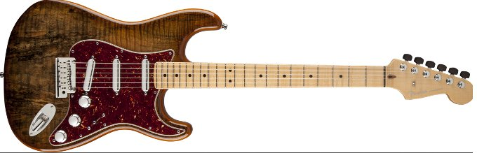 Fender-Spalted-Maple-top-Artisan-Stratocaster