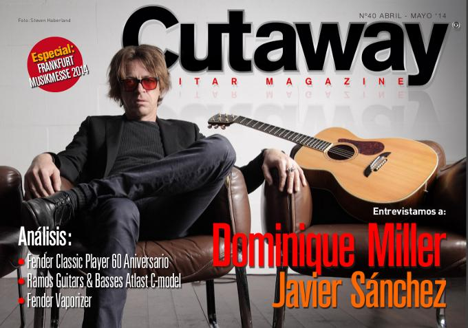Cutaway Guitar Magazine #40: Musikmesse 2014, Fender...