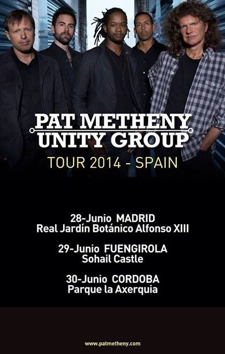 Conciertos de Pat Metheny Unity Group