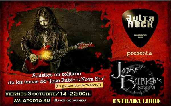 Concierto gratuito de Jose Rubio en Madrid