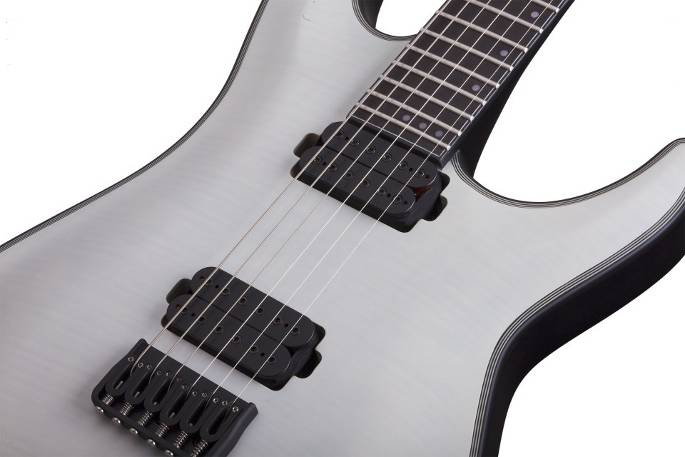 Schecter Guitars Keith Merrow 6 strings white