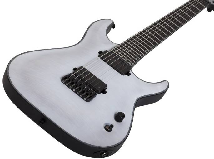 Schecter Guitars Keith Merrow 6 strings blackSchecter Guitars Keith Merrow 7 strings white