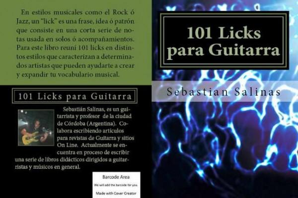 """Libro """"101 Licks para Guitarra"""""""