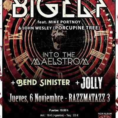 BIGELF con Mike Portnoy en Barcelona