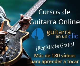 Cursos de Guitarra Online de Guitarra en un clic
