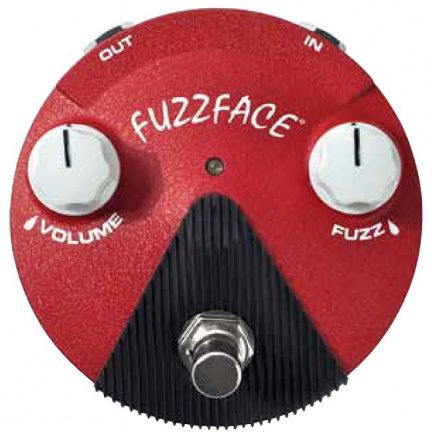 Pedal Dunlop Fuzz Face Mini Distortion Band Of Gypsys